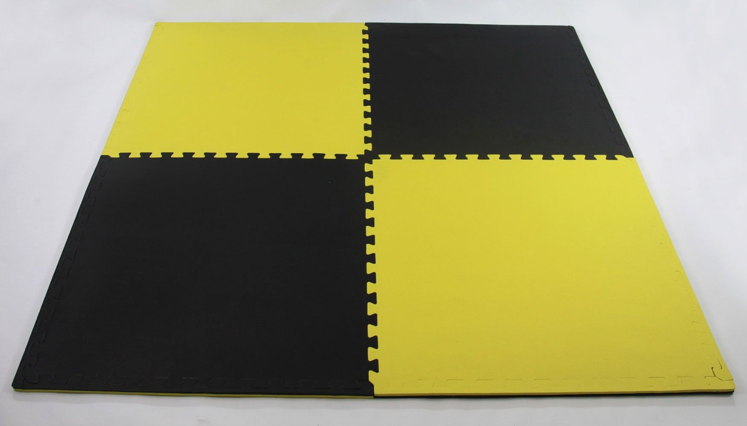 black/yellow  Mats 2,5 cm