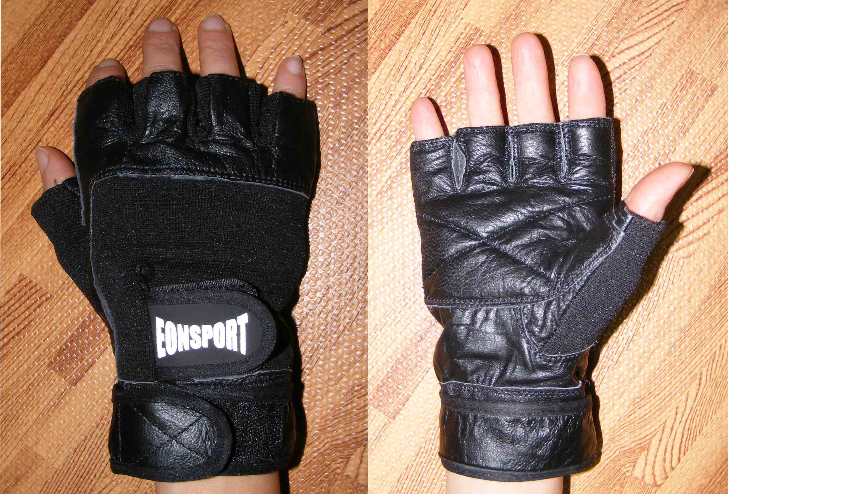 Fitness gloves -black-  XL