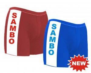 самбо гащета сини и червени размери S – M – L