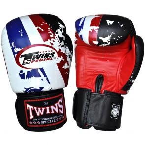 Боксови ръкавици TWINS от естествена кожа