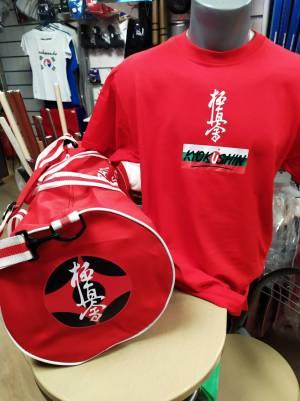 Киокушинкай тениска Червена